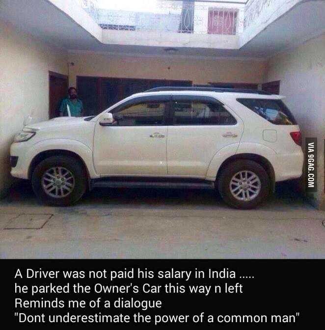 Treat your driver well..!! - meme