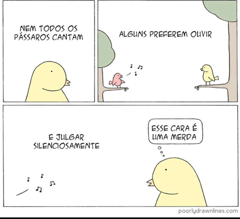 Pássaros - meme