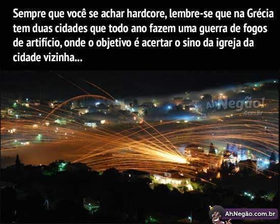 Imagina só se essa tradição chega aqui no Brasil.. huehuehue - meme
