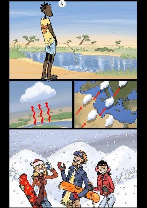 I hate snow - meme