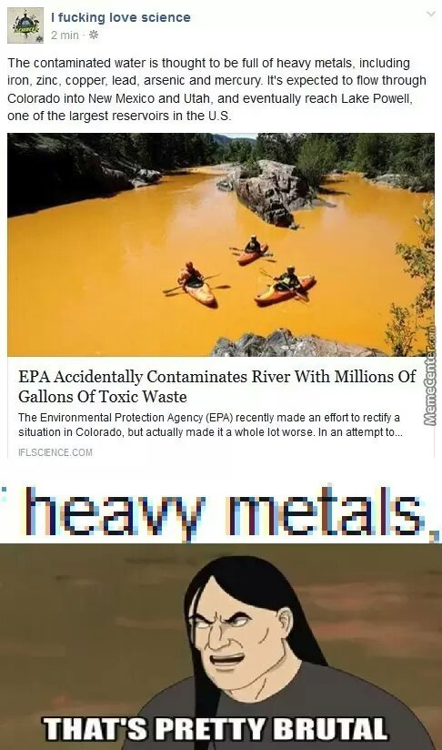 contaminated water - meme