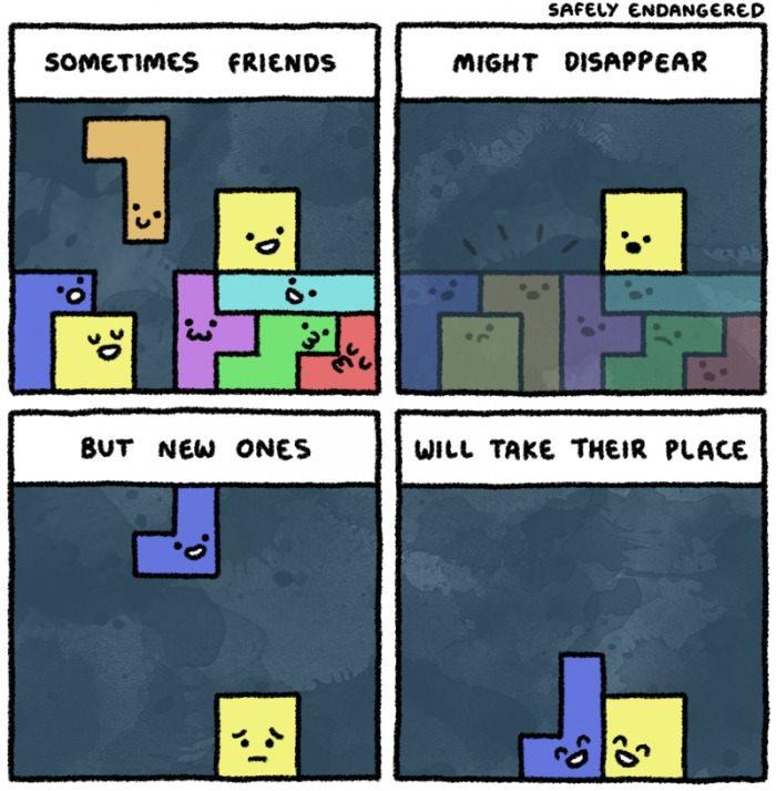 Good symbolism.  Very true. - meme