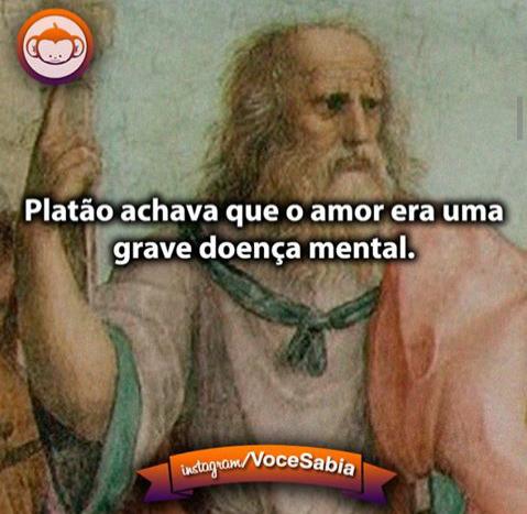 Platão mito - meme