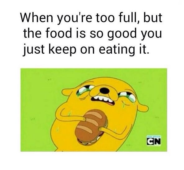 food is life - meme