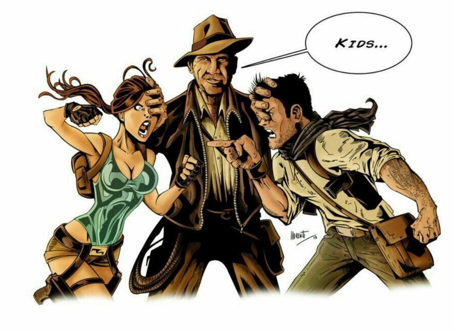 Mother Fucking Indiana Jones - meme