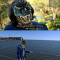 But am I the real Godzilla here on Memedroid