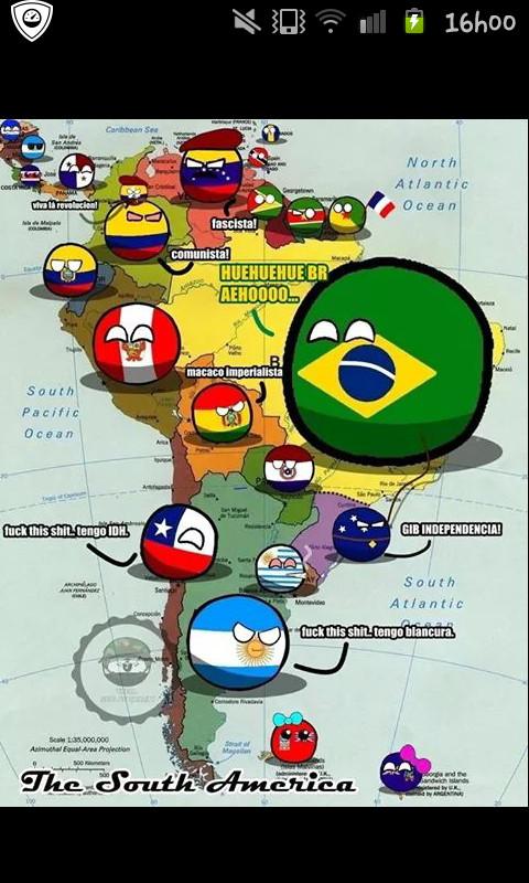 Brasil ball - meme