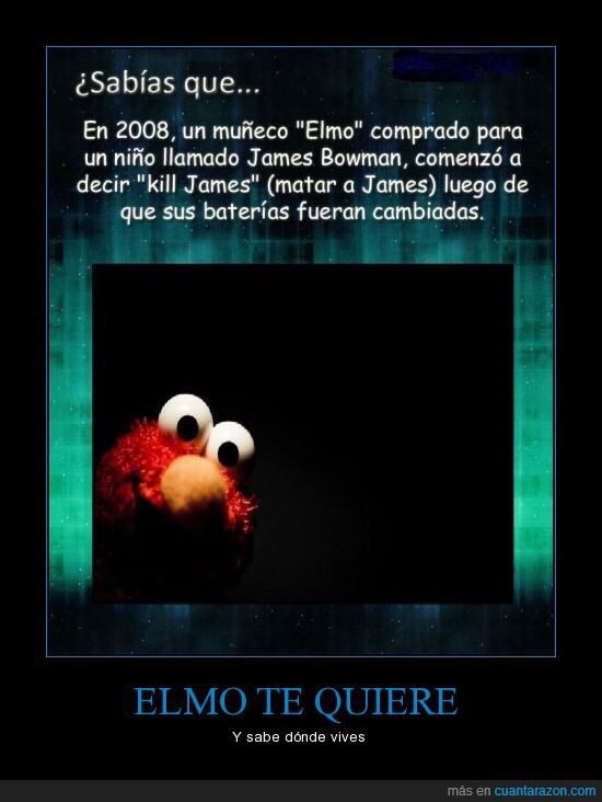 Elmo te quiere - meme