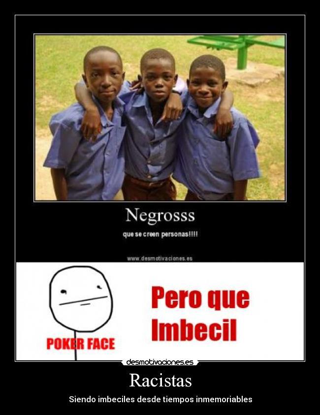 NO AL RACISMO - meme