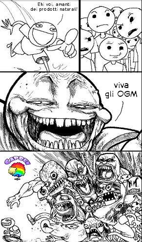 mhmmm, che deliziosa pannocchia con DNA di scorpione.. c: ~Caprun - meme