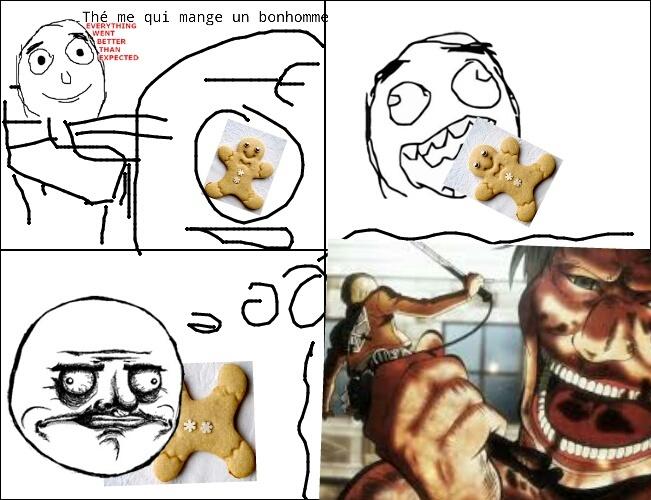 I love be a Titan  - meme