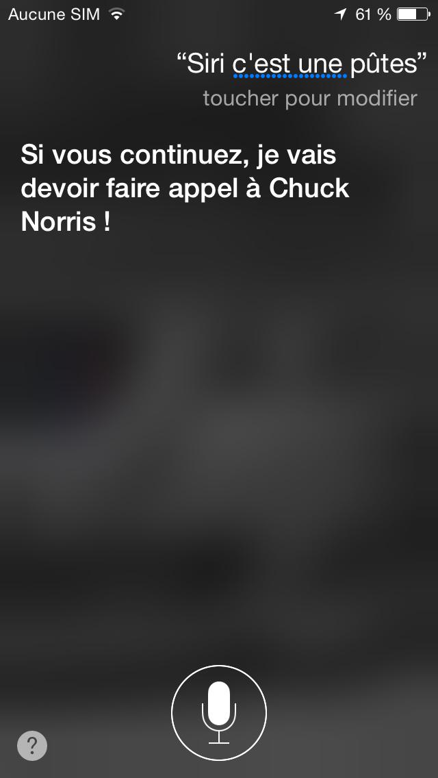 Siri veut ma mort ! - meme