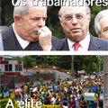 Trabalhadores vs elite