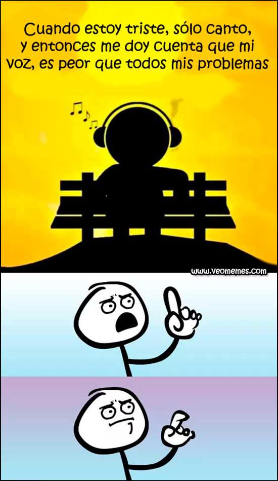 Mi voz - meme