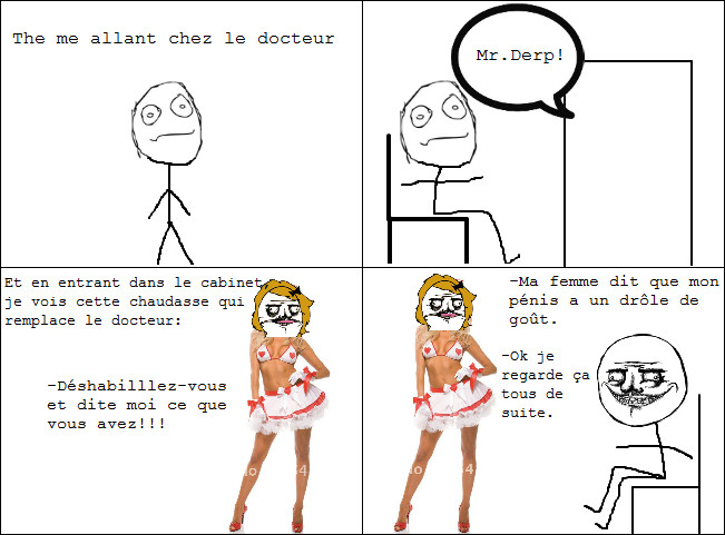 Chez le docteur - meme