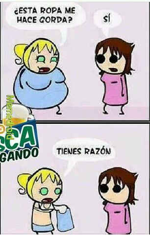 LaRopaMeHaceGorda - meme