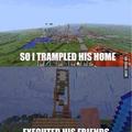 Minecraft = life