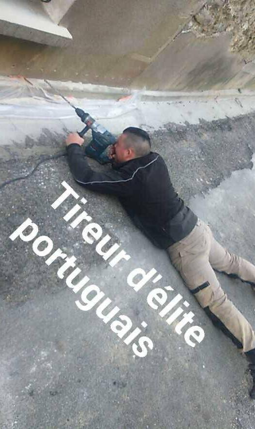 L'élite de l'armée Portugaise :D - meme