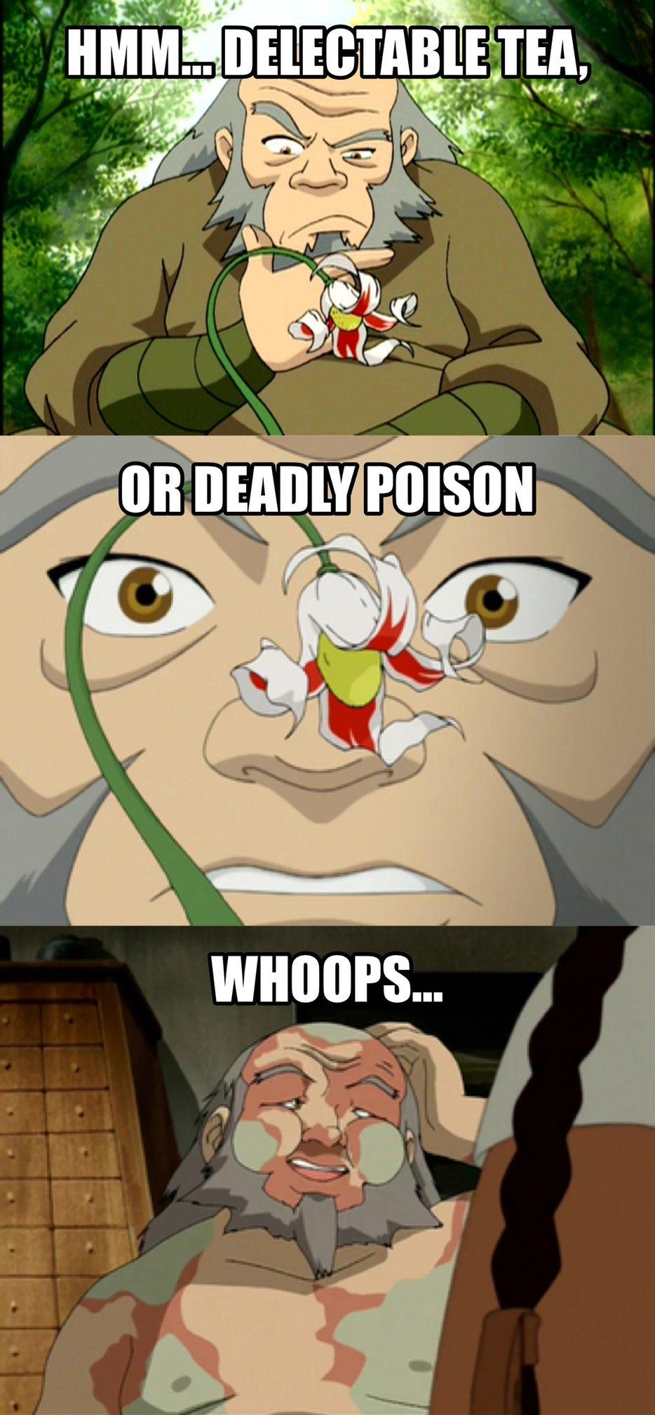 Still makes me laugh, Iroh is the best - meme