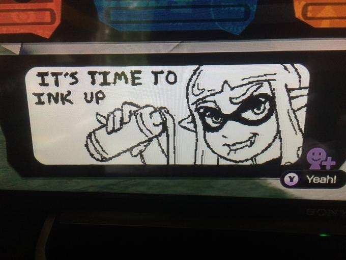 Oh God, the Splatoon miiverse... I love it. - meme