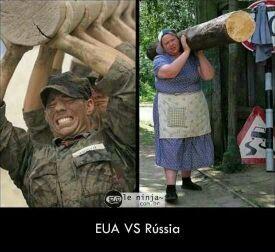 rússia wins - meme
