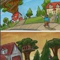 Justo en la infancia