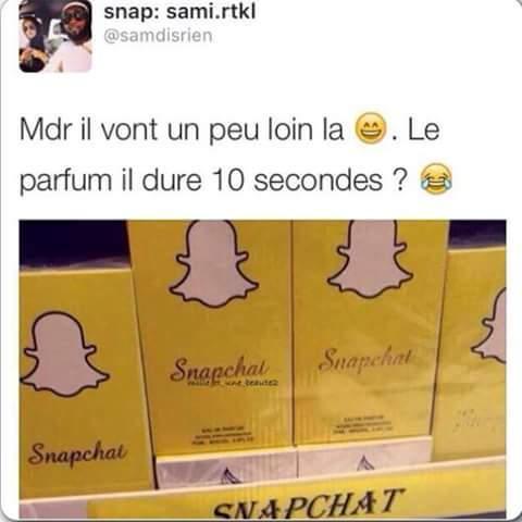 Snapchat commence à avoir de drôles d'idées.. - meme