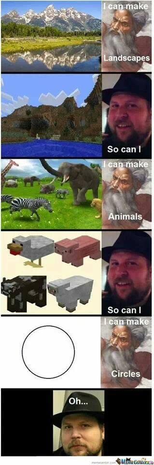 Just Minecraft Things - meme