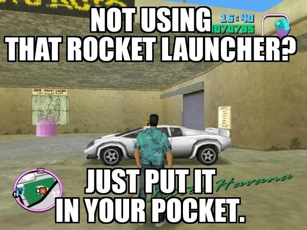Big pocket - meme