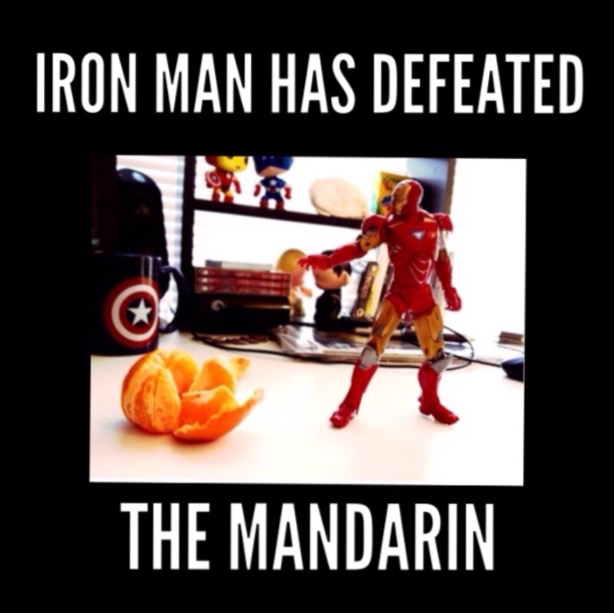 Iron fruit - meme