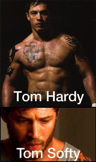 Tom hardy :-D - meme