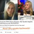 I wanna speak backwards