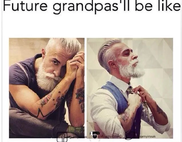 Old man swagger - meme