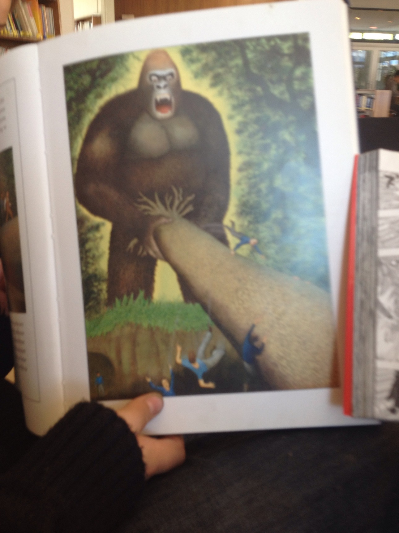ese king Kong es un loquijo - meme