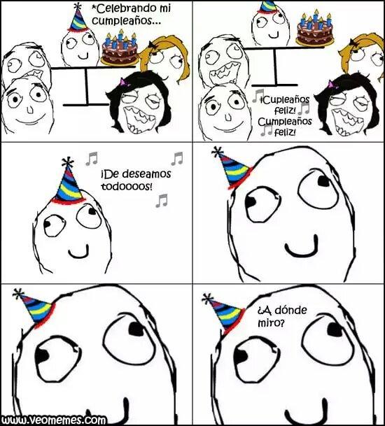 Todos en su Cumpleaños - meme