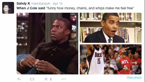 Cole world. What's your favorite j.cole song? - meme