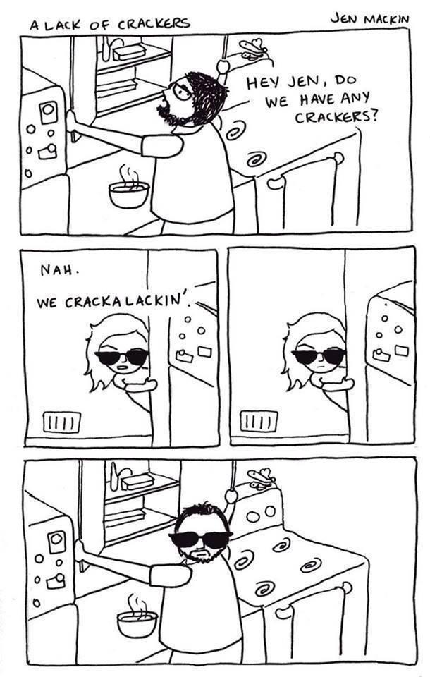 Lackin' Crackers - meme