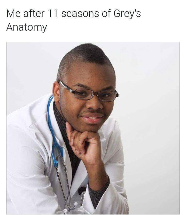 In case you don't know, this guy opened a medical practice and doesn't have a medical license - meme