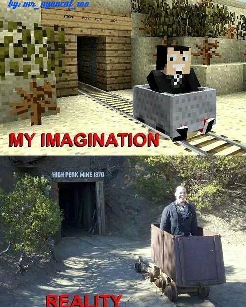 Minecraft... - meme