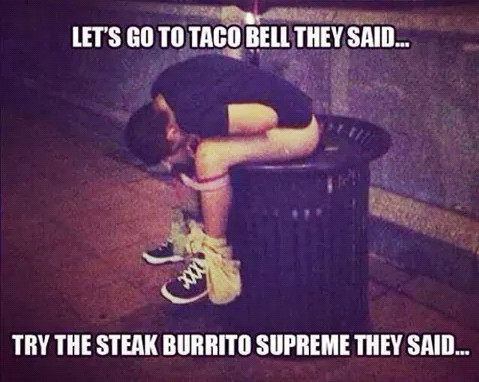 Eat at taco bell !! - meme
