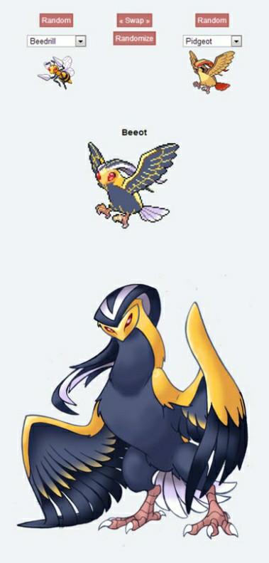 Fusiones pokemon, cada vez mas sorprendentes :) - meme
