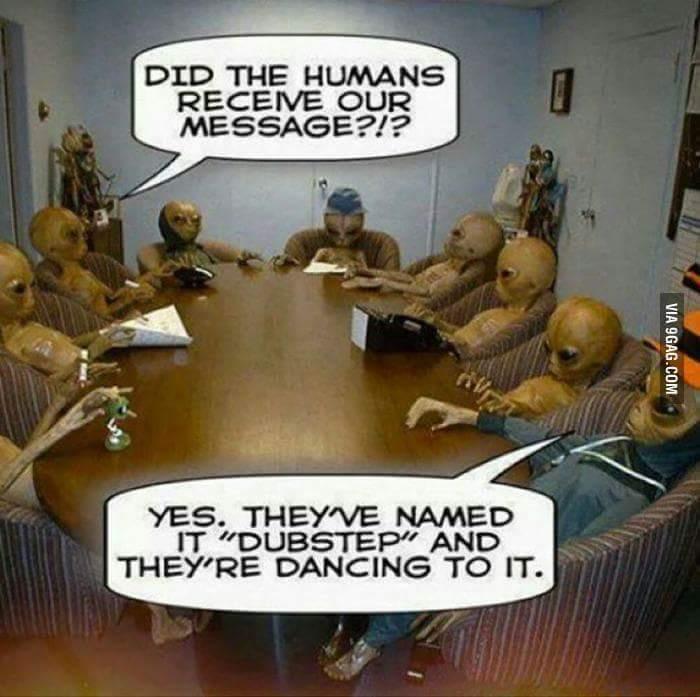 Aliens... - meme