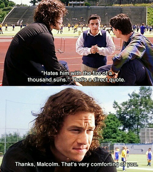 10 things I hate about you - meme