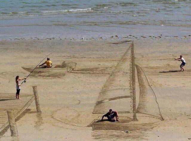Beach - meme