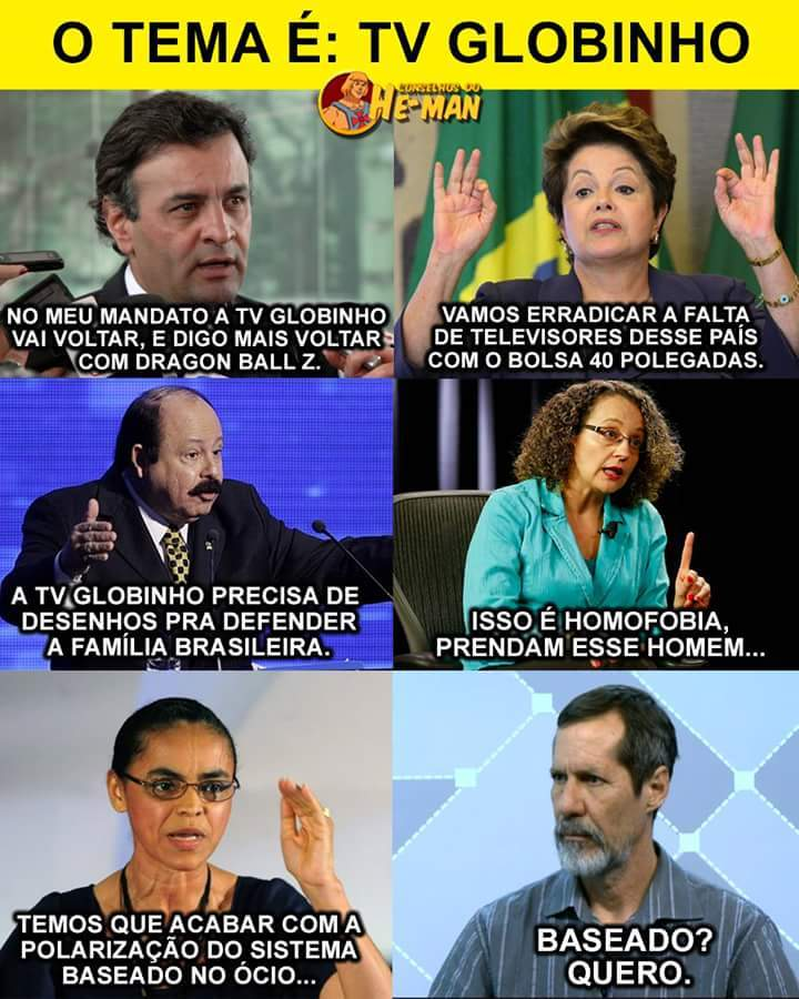 Sdds tv Globinho - meme