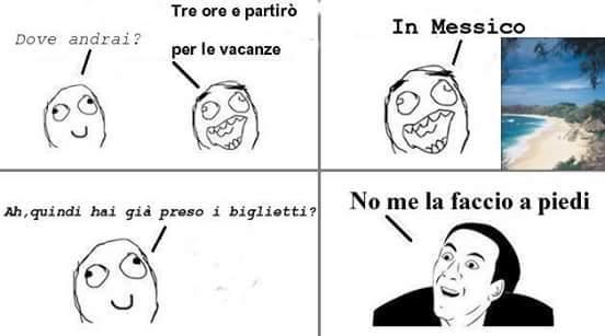 Vacanze - meme