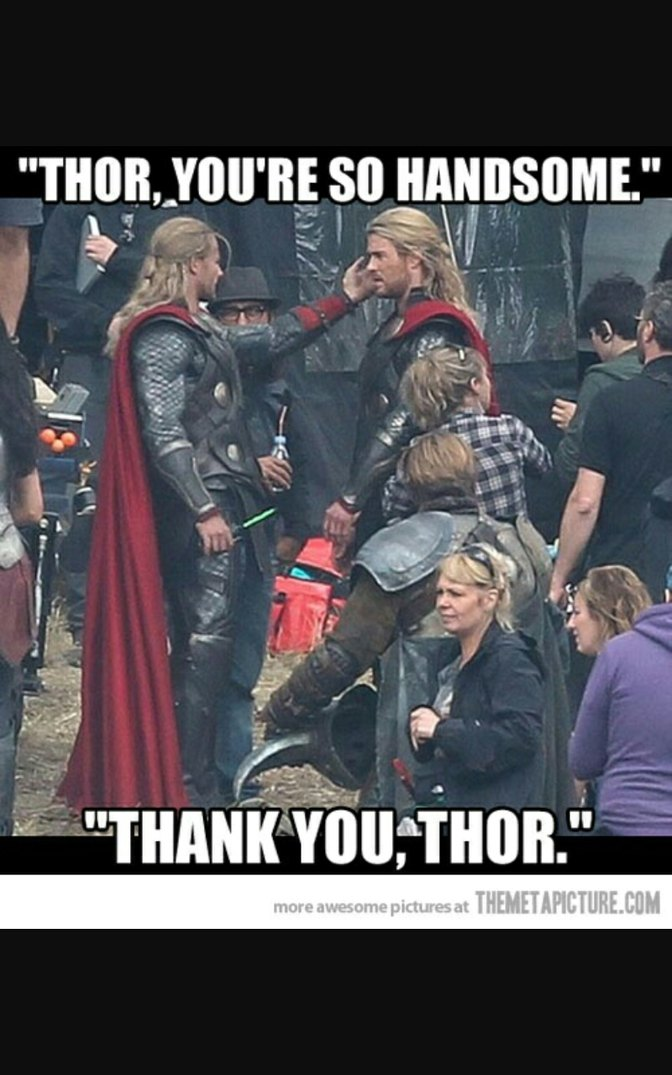 Thor loves Thor - meme
