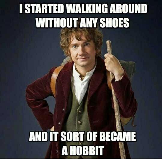Hobbit pun - meme