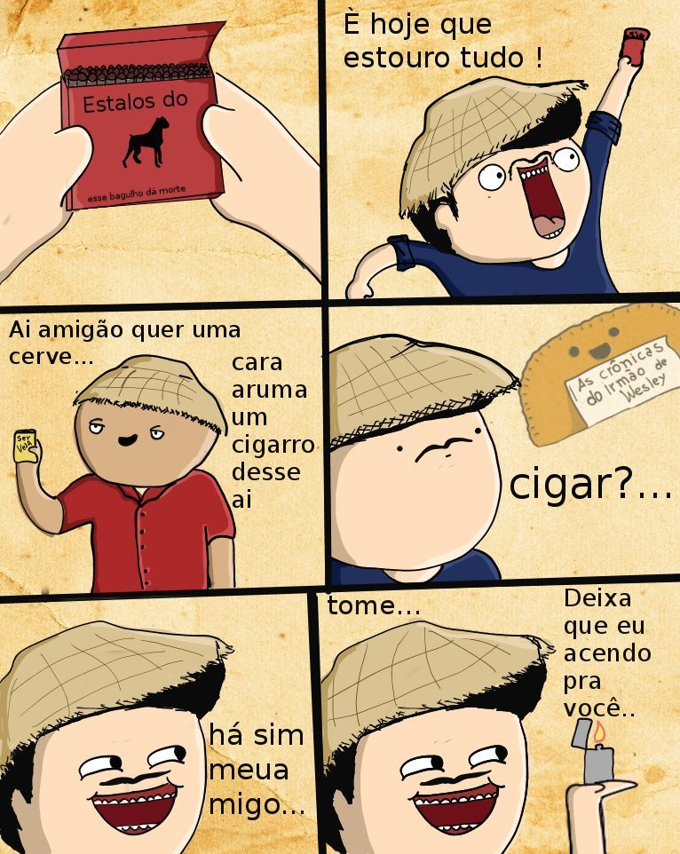 Cigarro - meme