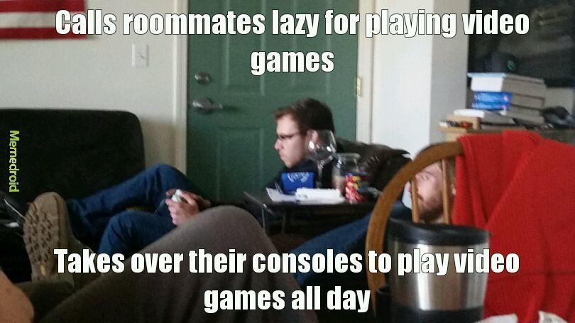 Scumbag roommate - meme